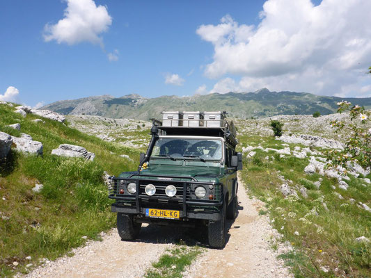 Conquering the dirt roads of Bosnia