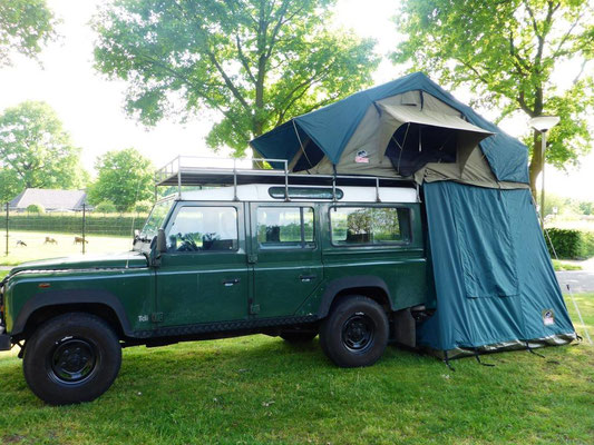Tembo 4x4 rooftent - Rafiki on Tour - Discover the world