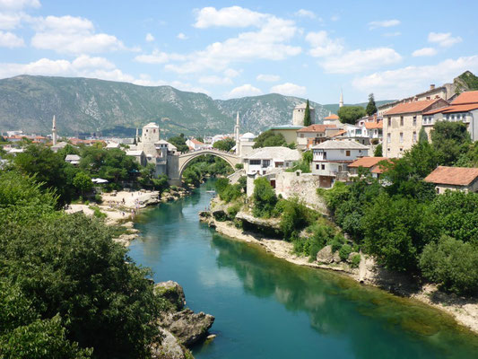 Going back in time and into a different culture at Mostar, Bosnia