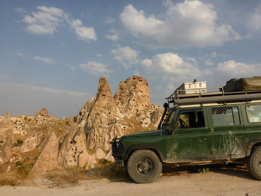 Cappadocia is a must see for every overlander going to Turkey