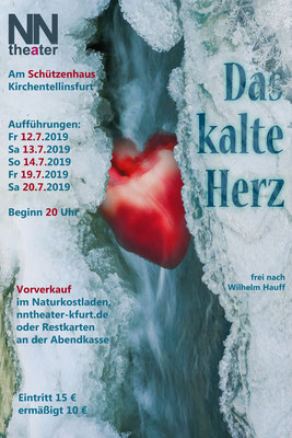 2019 - Petra Specht frei nach Wilhelm Hauff: Das kalte Herz - Open Air am Schützenhaus Kirchentellinsfurt
