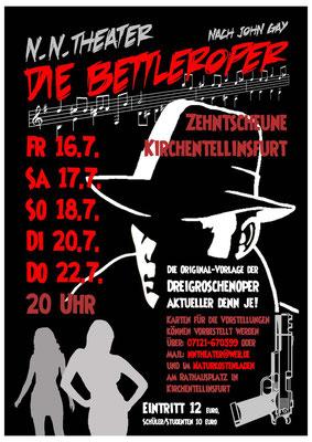 2010 - John Gay: Die Bettleroper - Zehntscheuer Kirchentellinsfurt