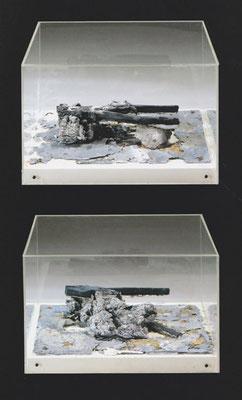 ペンチを浸食するアルミ:Aluminium Eroding Pincers 1980