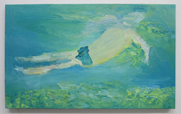 surface  2018  38.5 × 61.0 cm  oil on canvas