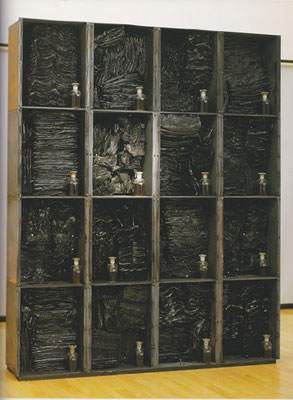 IRON CONTAINER FOR MUMMIFIED MAGAZINES 1992