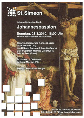 Johannespassion in Hamburg