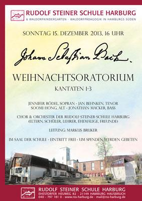2013, 2014 und 2015 übernahm die Theorbe die Rezitative im Weihnachtsoratorium. 2013 auch in der Lüneburger Nikolaikirche unter der Leitung von Stefan Metzger-Frey
