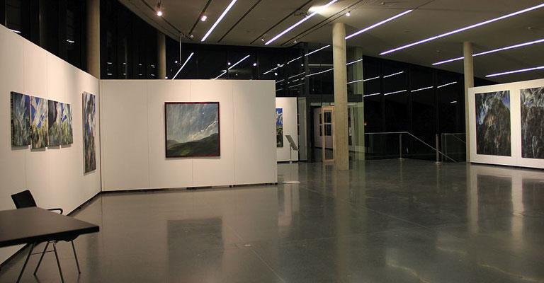 Ausstellungsansicht Kunsthaus Weiz, 2016, Foto: Hollerer