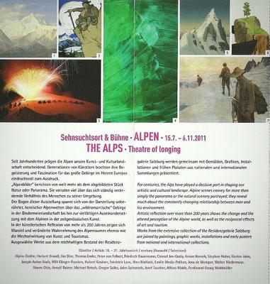 """Ausstellung """"Alpen. Sehnsuchtsort und Bühne"""""""