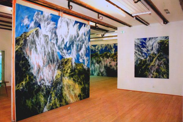 Ausstellungsansicht Kunsthalle Graz, Foto: Jakely