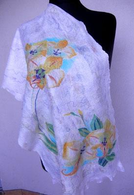 Палантин  Орхидеи  $65