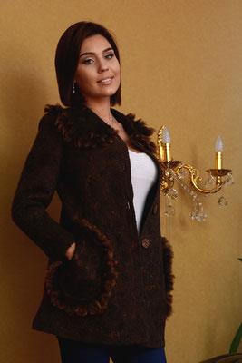 """Пальто """"Шоколад""""  $220"""