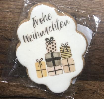 Saisonale Lebkuchen Weihnachten Geschenke