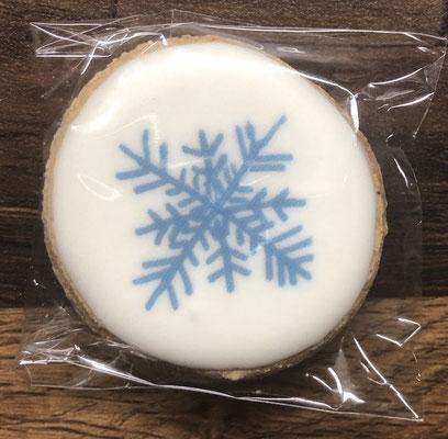 Saisonale Lebkuchen Weihnachten Mini Schneeflocke