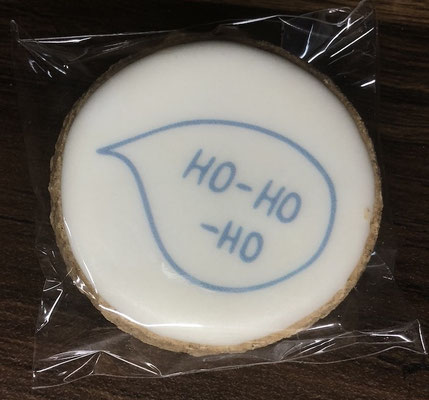 Saisonale Lebkuchen Weihnachten Mini Ho-Ho-Ho