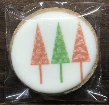 Saisonale Lebkuchen Weihnachten Mini Tannenbäume