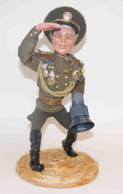кукла шарж генерал