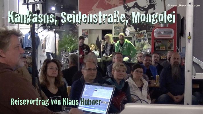 Reisevortrag Klaus Hübner
