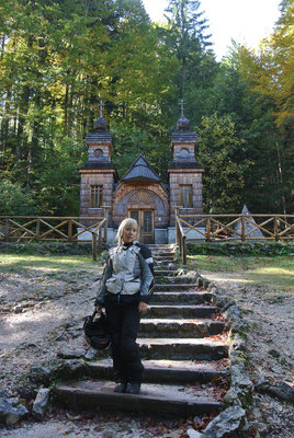 Russische Kapelle am Vrsic-Pass