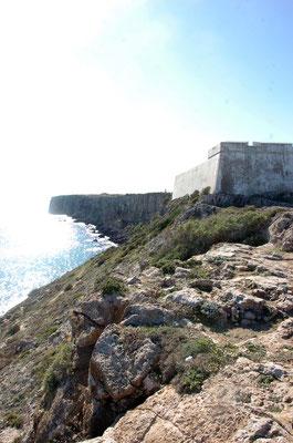 Portugal, Algarve, Sagres (südwestlichster Punkt des europäischen Festlands), Fortaleza de Sagres