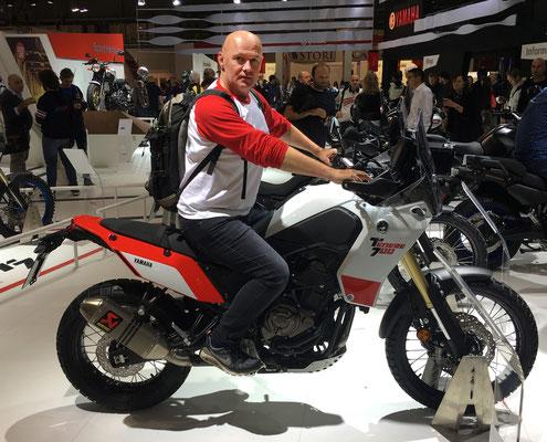 "EICMA 2018 - die ""fertige"" Yamaha Tenere 700"