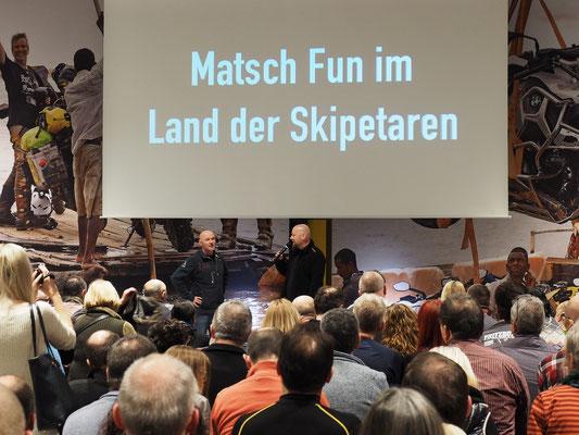 Einleitende Worte mit Touratech-CMO Martin Wickert