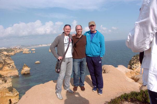 Portugal, Algarve, Lagos - so sehen arbeitende Menschen aus :)
