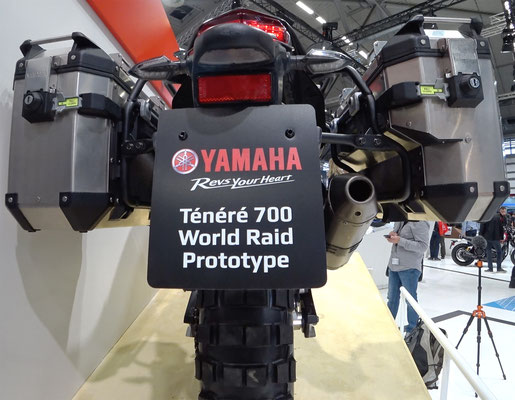 Yamaha Tenere 700 World Raid Prototyp