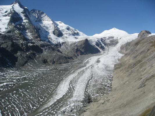Blick von der Kaiser-Franz-Josefs-Höhe, da war schon einmal mehr...