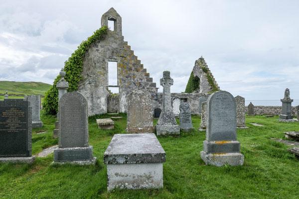 Ruine der Kapelle von Balnakeil, Durness