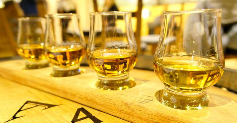 Whisky-Verkostung in Oban