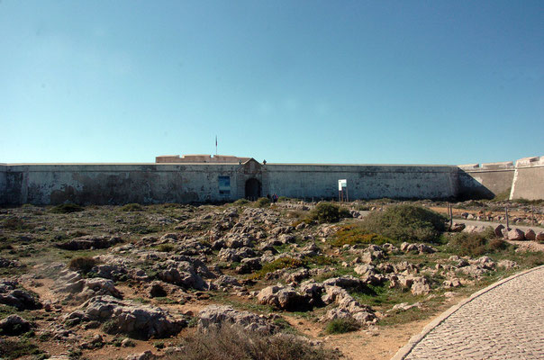 Portugal, Algarve, Sagres (südwestlichster Punkt des europäischen Festlands), Fortaleza de Sarges