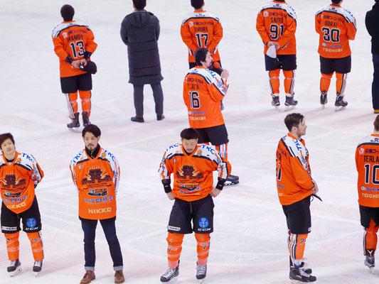 アイスバックス#16斉藤哲也キャプテンからレギュラーシーズンを終えてのご挨拶