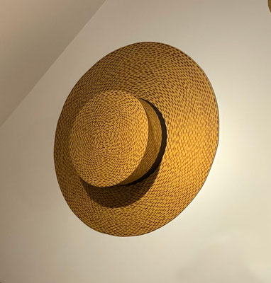 Hat,  1988, Acrylic on galvanized steel