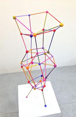 Vase 2014 Acrylic on steel and epoxy (sold)