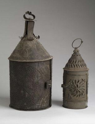 18th century candle lanterns.