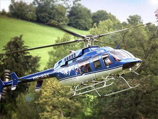 Hubschraubertyp Bell 407