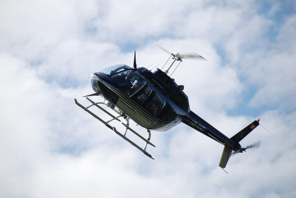 Hubschrauberflug Düsseldorf