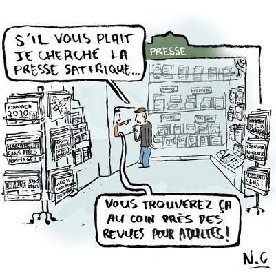 publié sur le Webmag de France Cartoon de janvier 2020