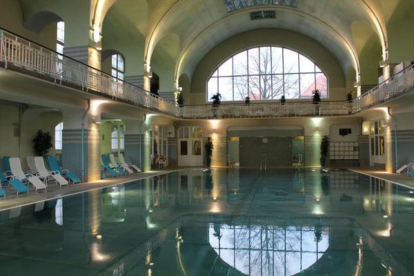 Bartholomäustherme Hamburg: 1909 als Volksbad eröffnet, heute eine schicke Therme