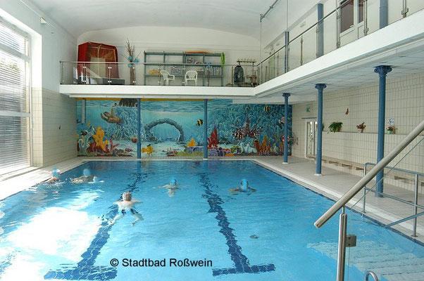 Stadtbad Roßwein: Alte Halle mit neuer Unterwasserwelt