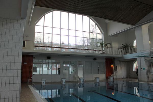 Bartholomäustherme Hamburg: Nur für Frühschwimmer ist die ehemalige Frauenhalle zugänglich
