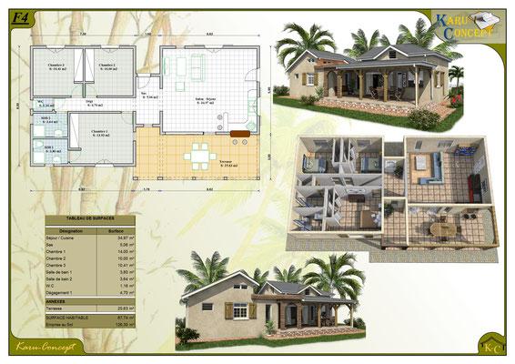 Karu Concept Conception Plans De Maisons Karu Concept Dessinateur En Batiment Guadeloupe