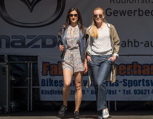 Temple of Cult - Modenschau auf dem Gothaer Neumarkt beim 25. Gothardusfest