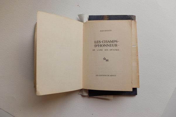 Le livre des origines