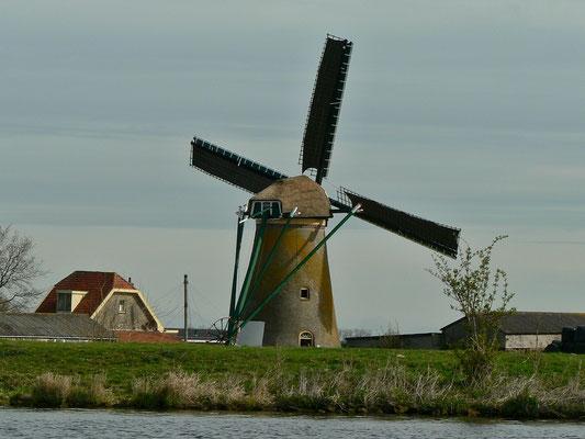 Eine von vielen Mühlen am Kagerplassen