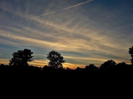 Sonnenuntergang, Woudsend