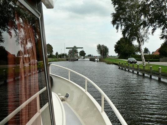 Unterwegs auf dem Kanaal Steenwijk - Ossenzijl