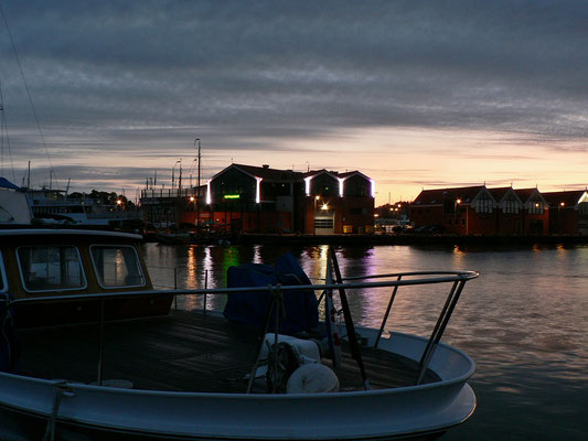 Morgens in Urk