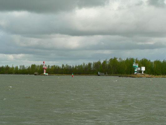 Hier mündet die Ijssel ins Kettelmeer